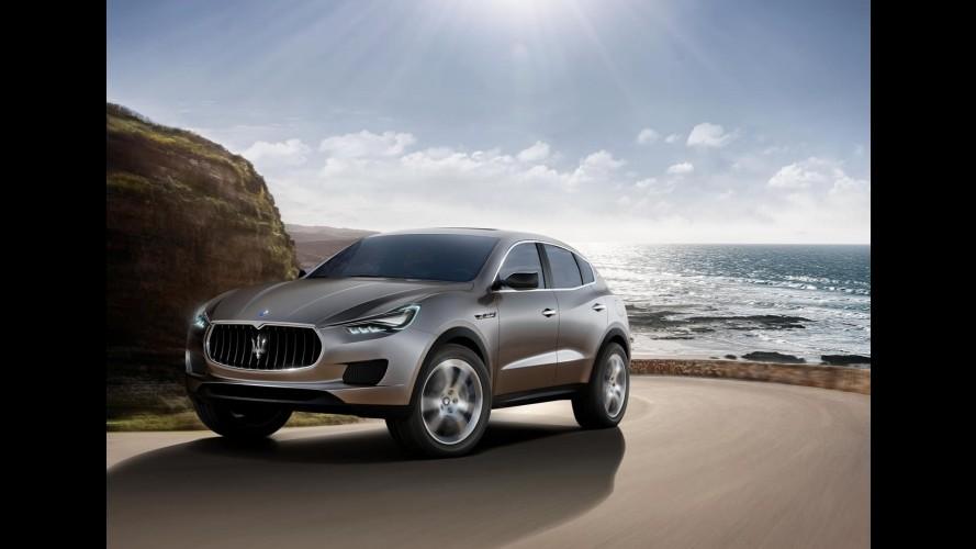 Batismo: Novo SUV da Maserati, que chega em 2013, poderá se chamar Cinqueporte