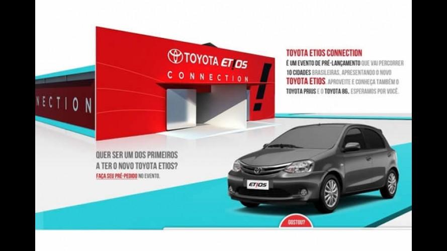 Esportivo Toyota 86 será mostrado no Brasil durante pré-venda do Etios