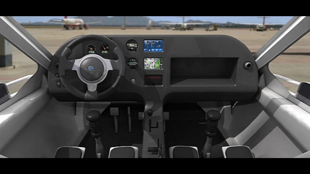 Carro voador começa a ser vendido em 2011 nos Estados Unidos