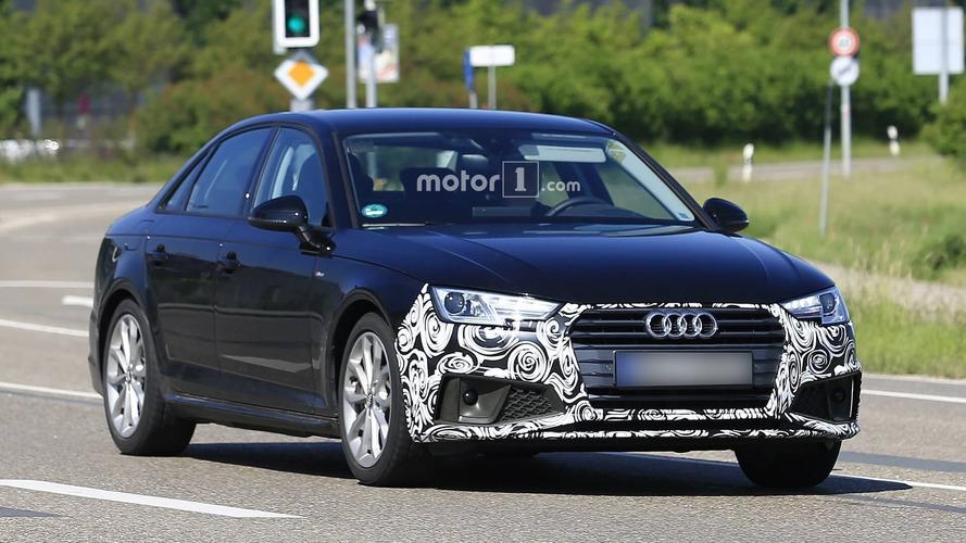 L'Audi A4 restylée pointe déjà le bout de son nez