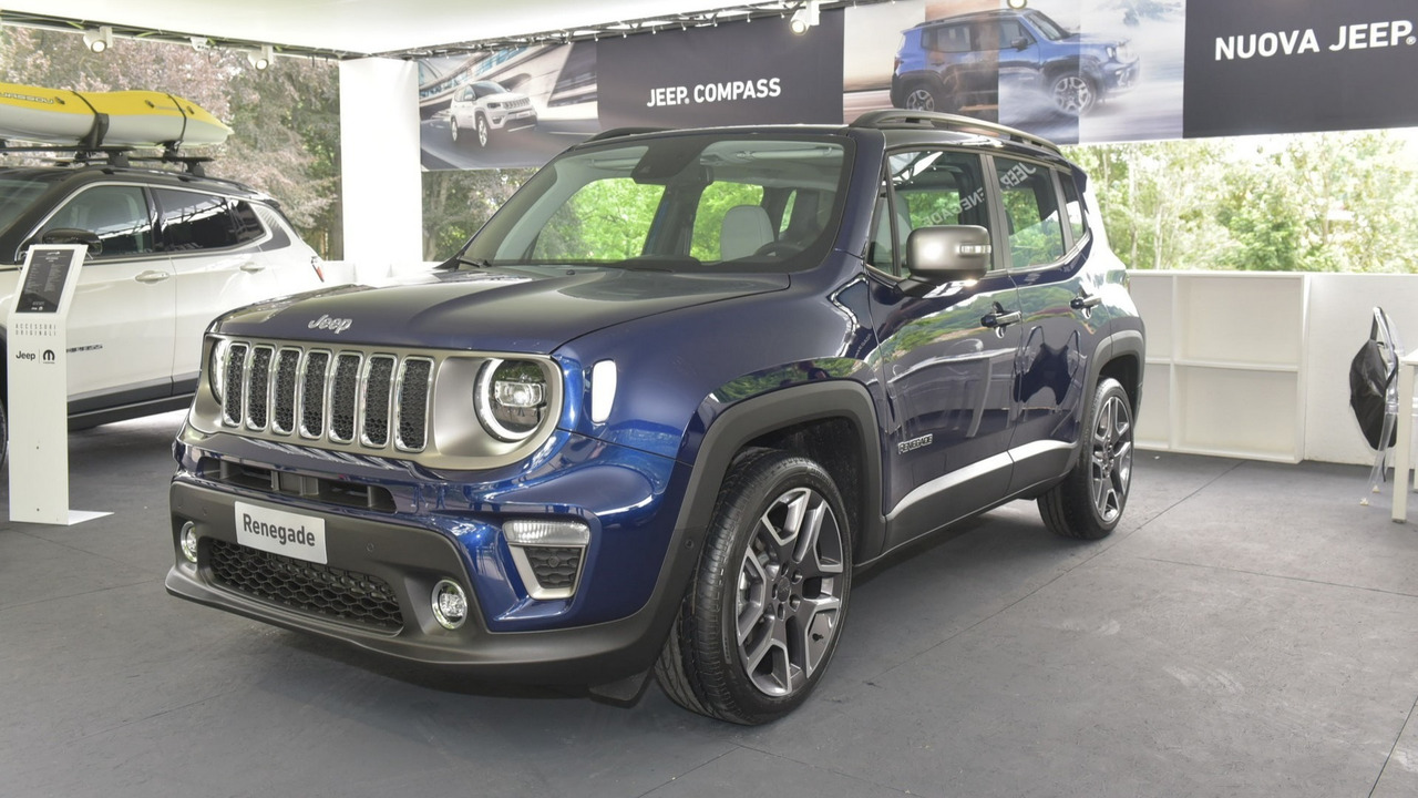 2019 jeep renegade facelift european version at torino motor show photos. Black Bedroom Furniture Sets. Home Design Ideas