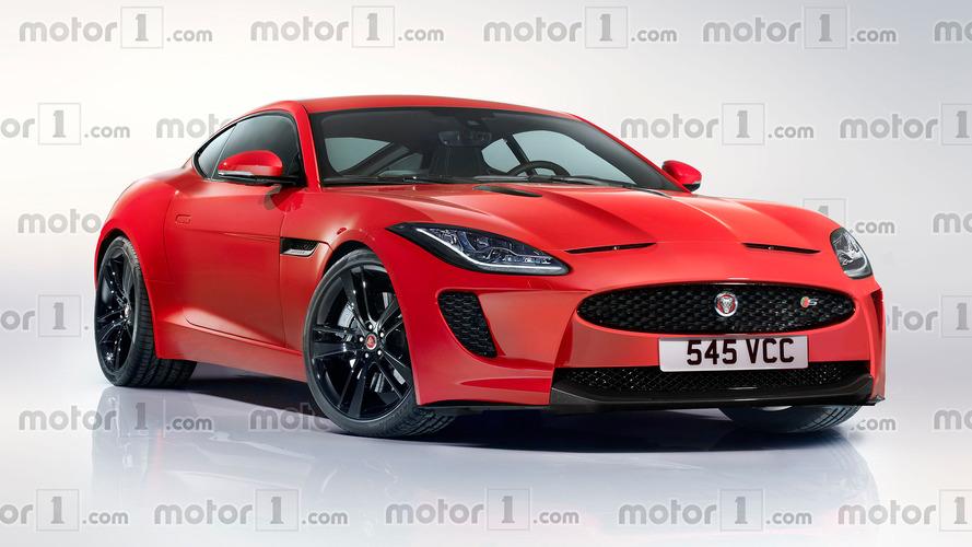 Nuova Jaguar XK, il rendering