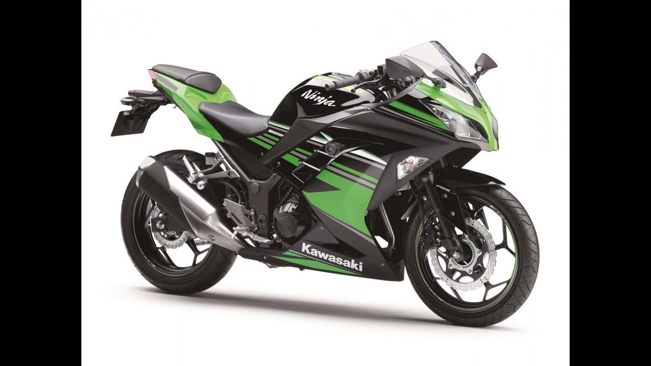 Kawasaki Ninja 300 traz novidades na linha 2017 - veja preços