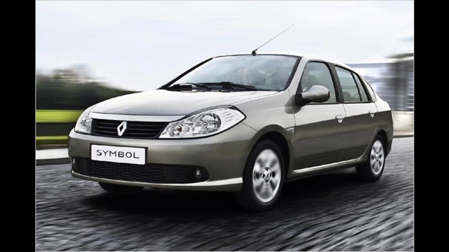 Renault Symbol und Thalia: Neue Stufenheck-Kleinwagen