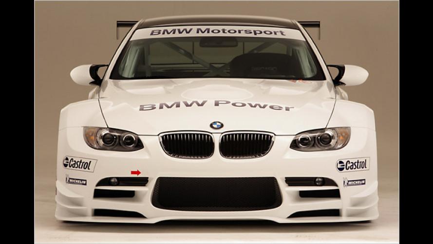 Es lebe der Sport: BMW zeigt die Rennversion des M3