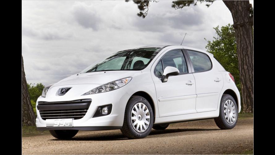Peugeot 207: Spardiesel mit 98 Gramm CO2 pro Kilometer