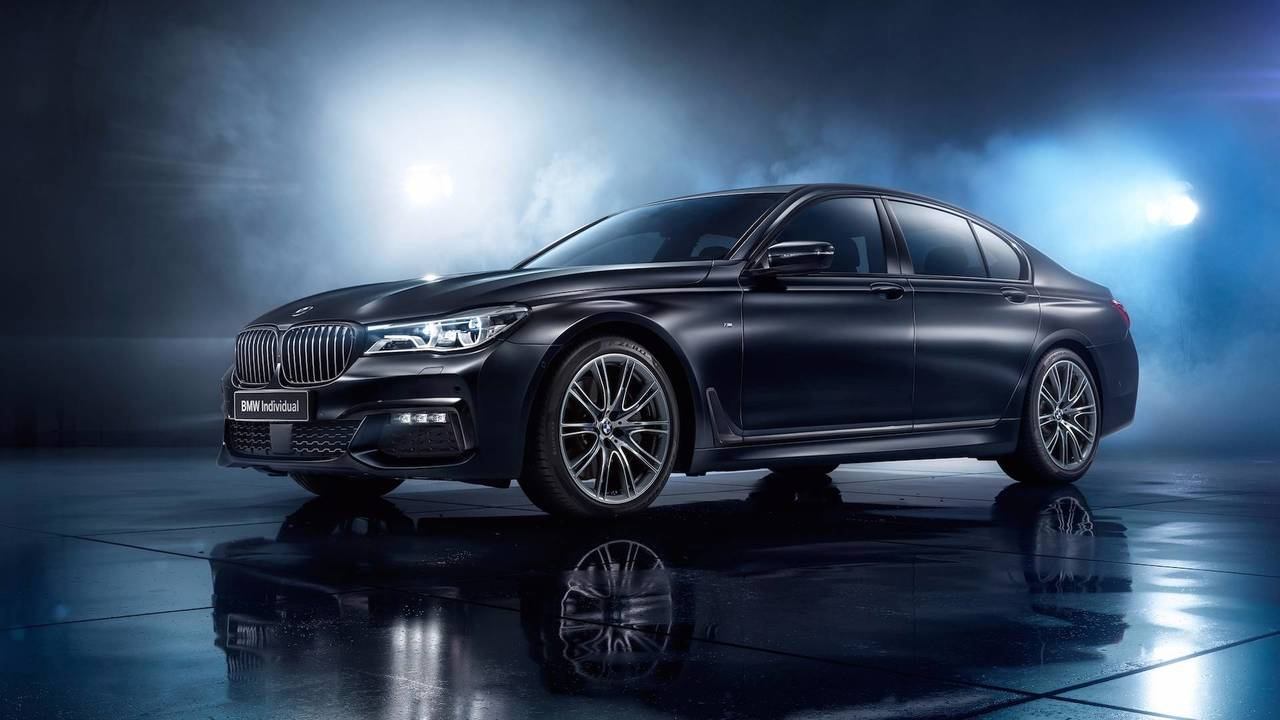 BMW 7 Serisi Individual Edition Black Ice