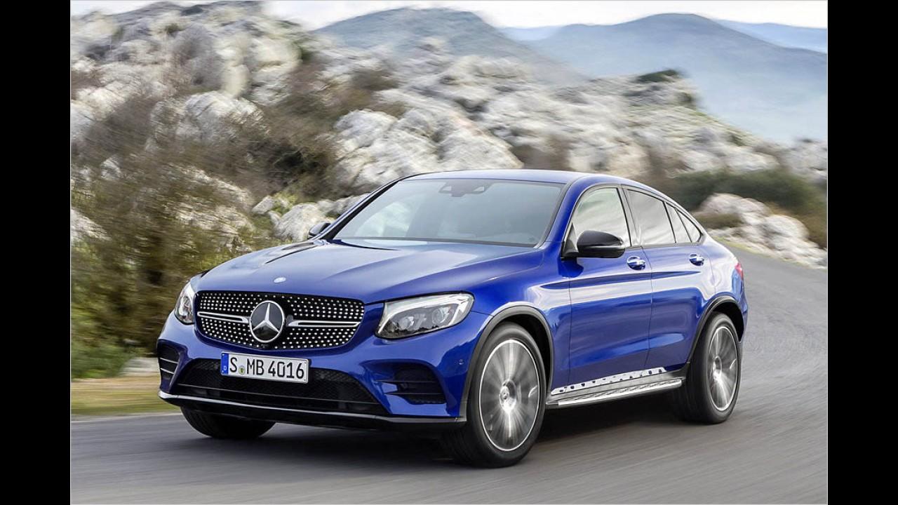 258 PS: Mercedes GLC Coupé 350 d