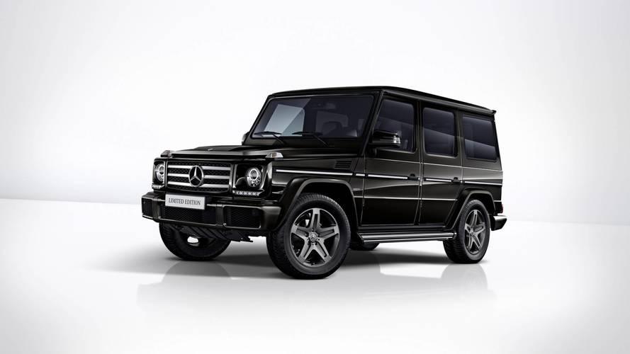 Nyugdíjazása előtt még beköszönt egy limitált kiadással a Mercedes-Benz G-osztály