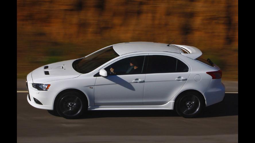 Mitsubishi prepara la Lancer Sportback per Parigi