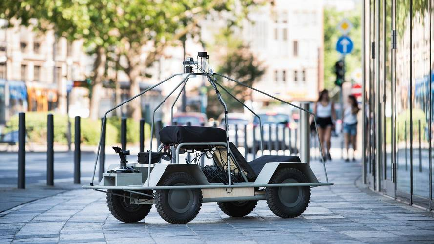 Daimler Team's Quirky Project Turns You Into An Autonomous Car
