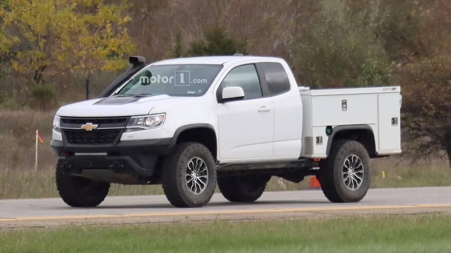Chevrolet Colorado ZR2 Utility Spy Photos