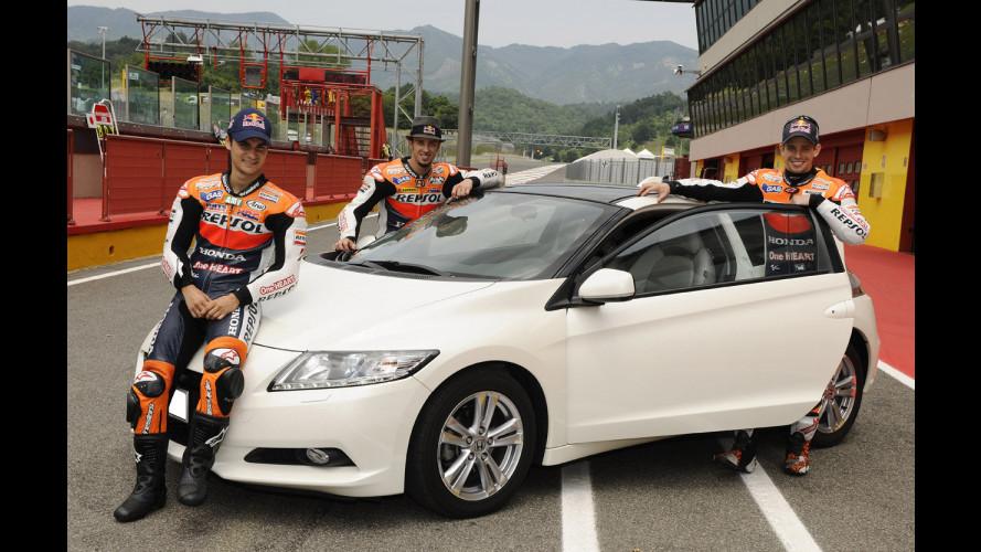 Una Honda CR-Z per Dovizioso, Pedrosa e Stoner