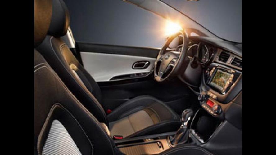 Nuovi sedili leggeri per la Kia cee'd di seconda generazione
