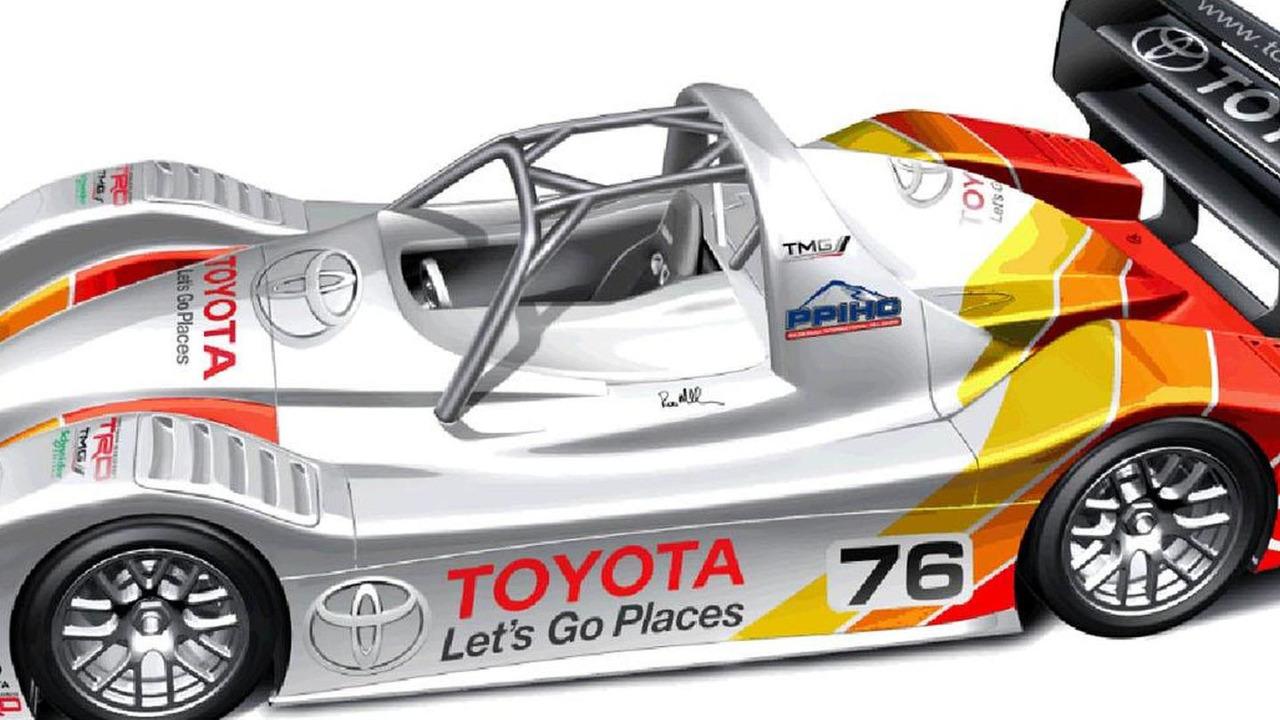 2013 Toyota Motorsport GmbH (TMG) EV P002 for Pikes Peak 07.5.2013