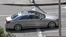 2014 Mercedes-Benz S-Class spied without any camouflage 18.03.2013