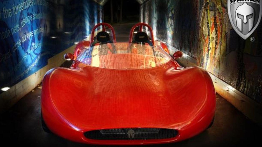 Spartan track car goes up for order [video]