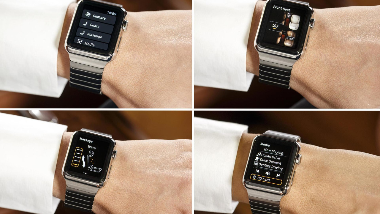 Bentley Bentayga Apple Watch App