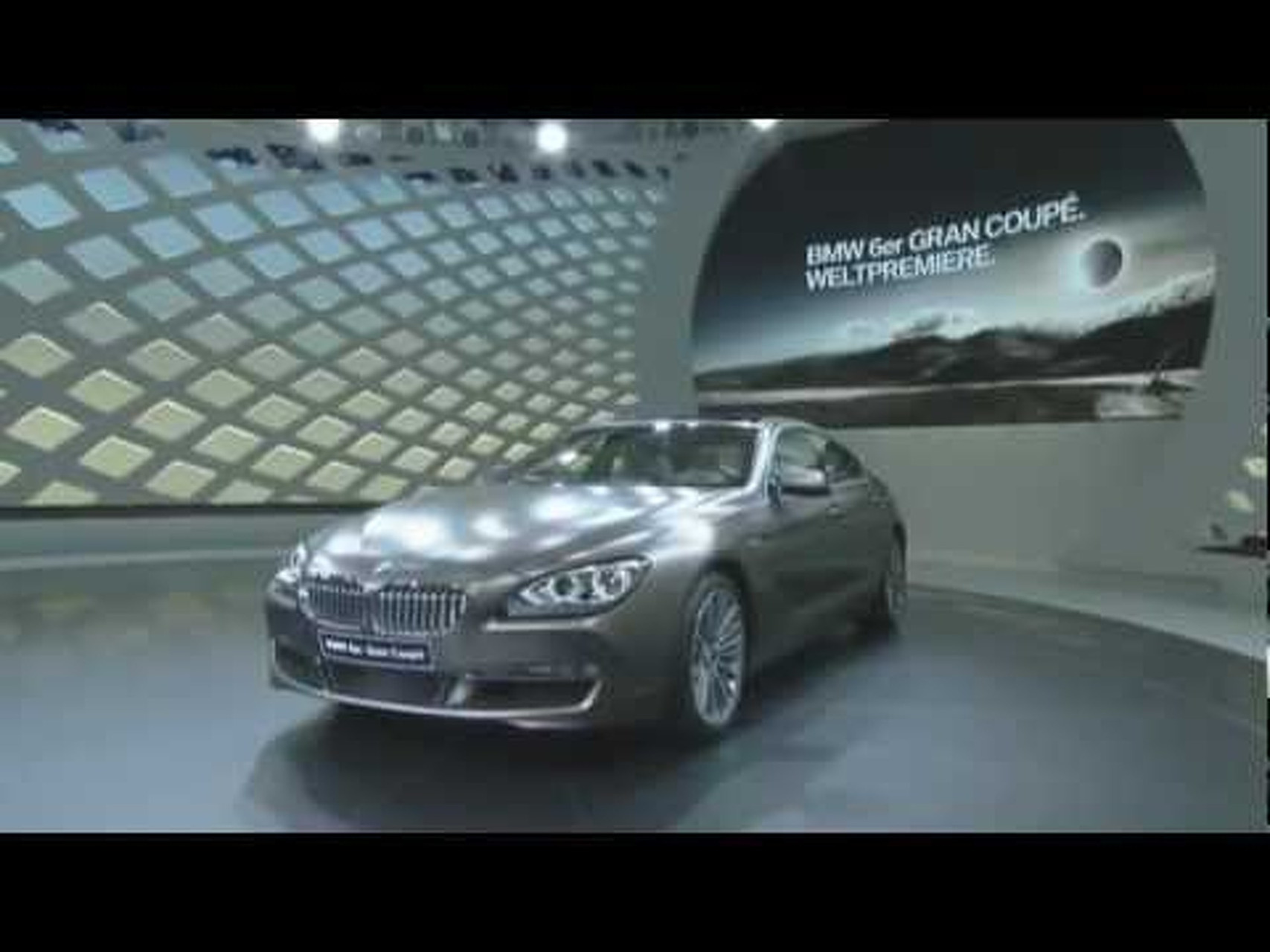 2013 BMW 6-Series Gran Coupe - premiere at the 2012 Geneva Motor Show