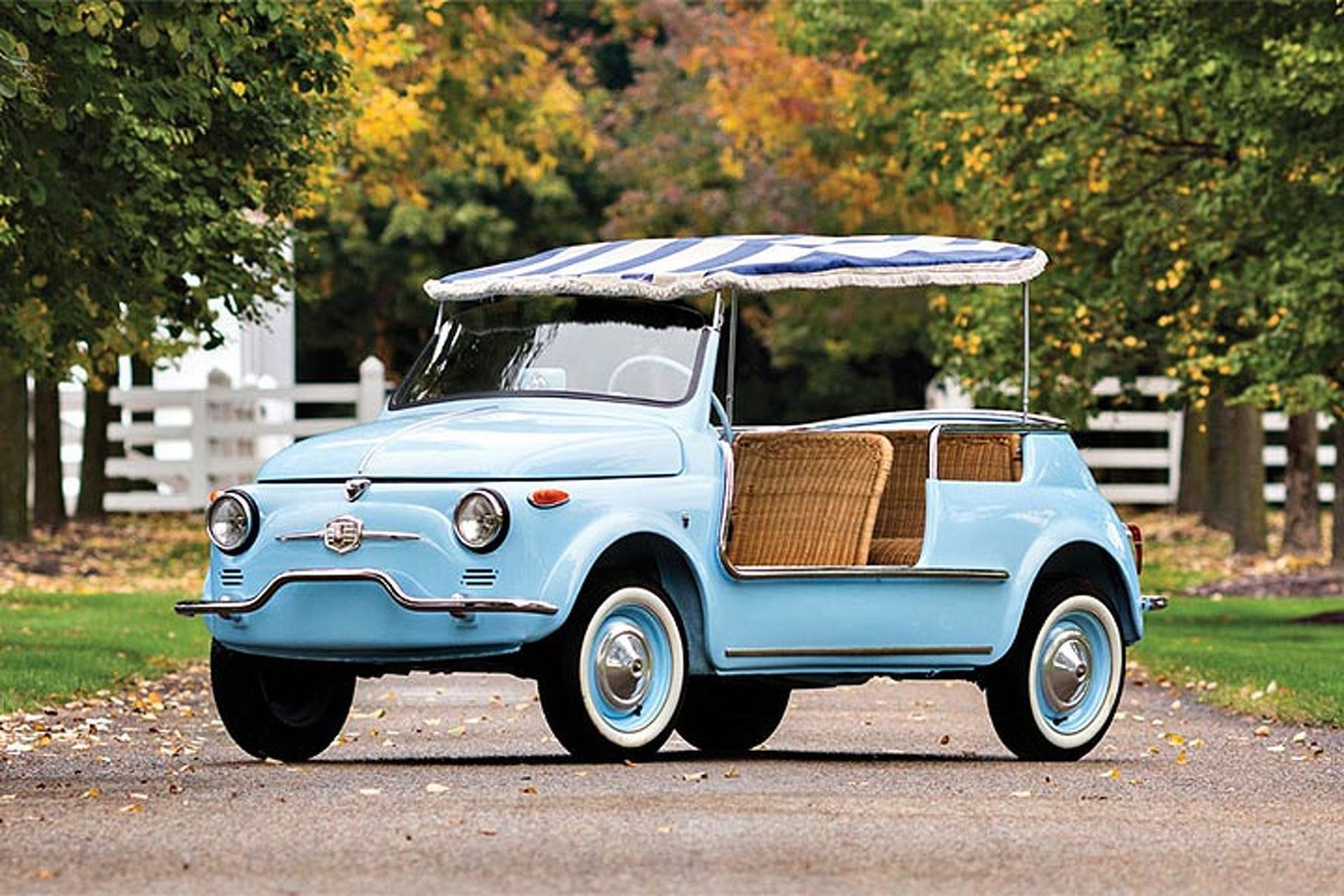 The Classic Fiat 500 Jolly is Making a Comeback
