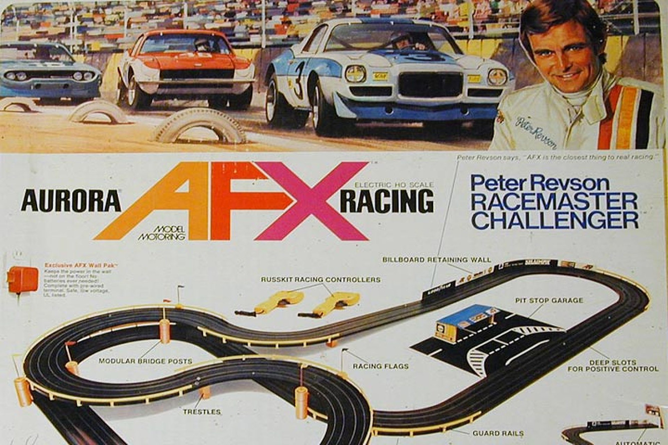 Weekend Mornings with Slot Cars: Throwback Thursday
