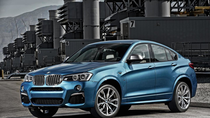 BMW X4 M40i unveiled with 360 PS