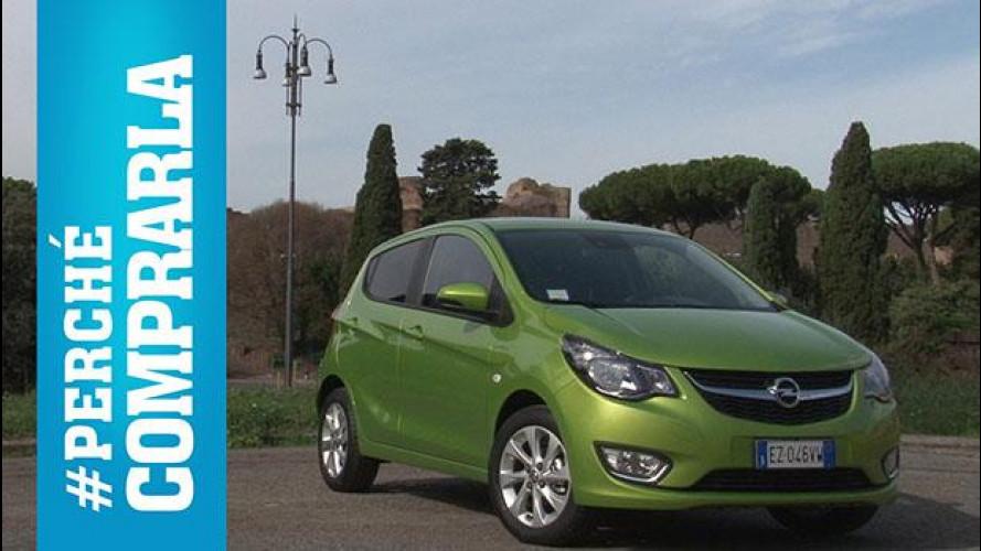 Opel Karl (2015) Perché comprarla... e perché no [VIDEO]