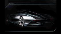 McLaren BP23, il primo disegno della Hyper-GT