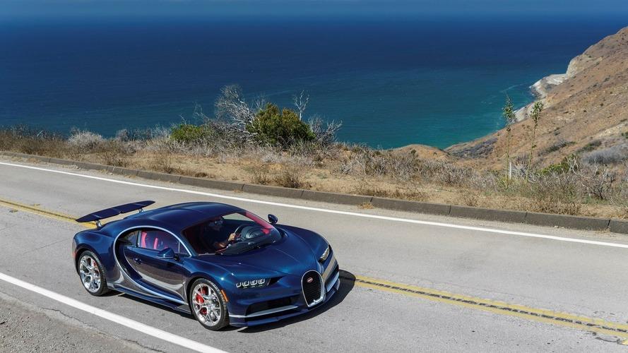 Bugatti Chiron makes U.S. debut today