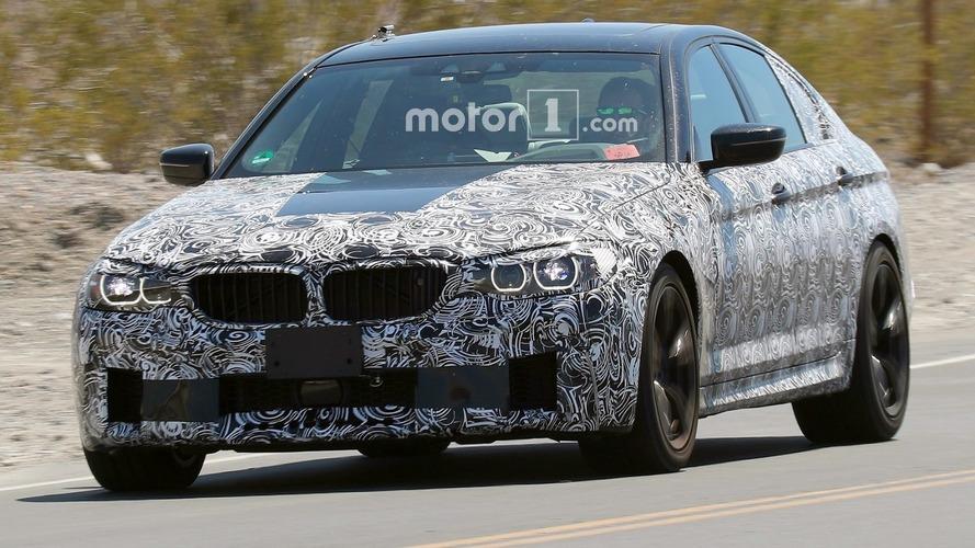 Vidéo - La nouvelle BMW M5 s'échauffe sur le Nürburgring