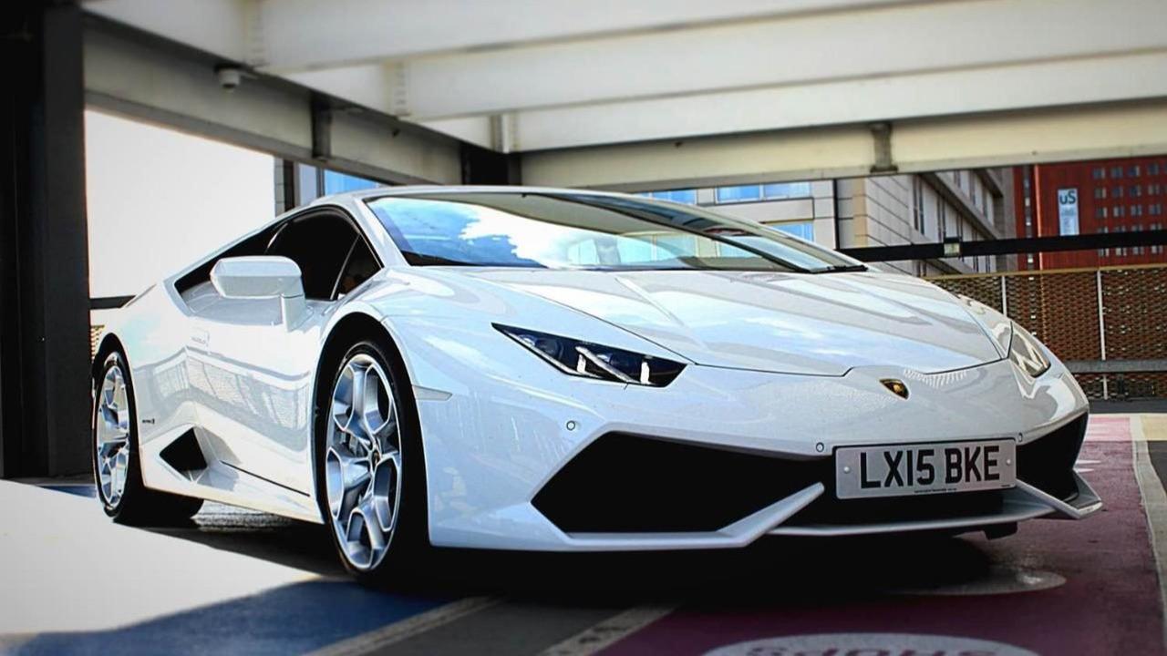 Lamborghini Huracan impounded