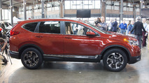 2017 Honda CR-V: Live Photos