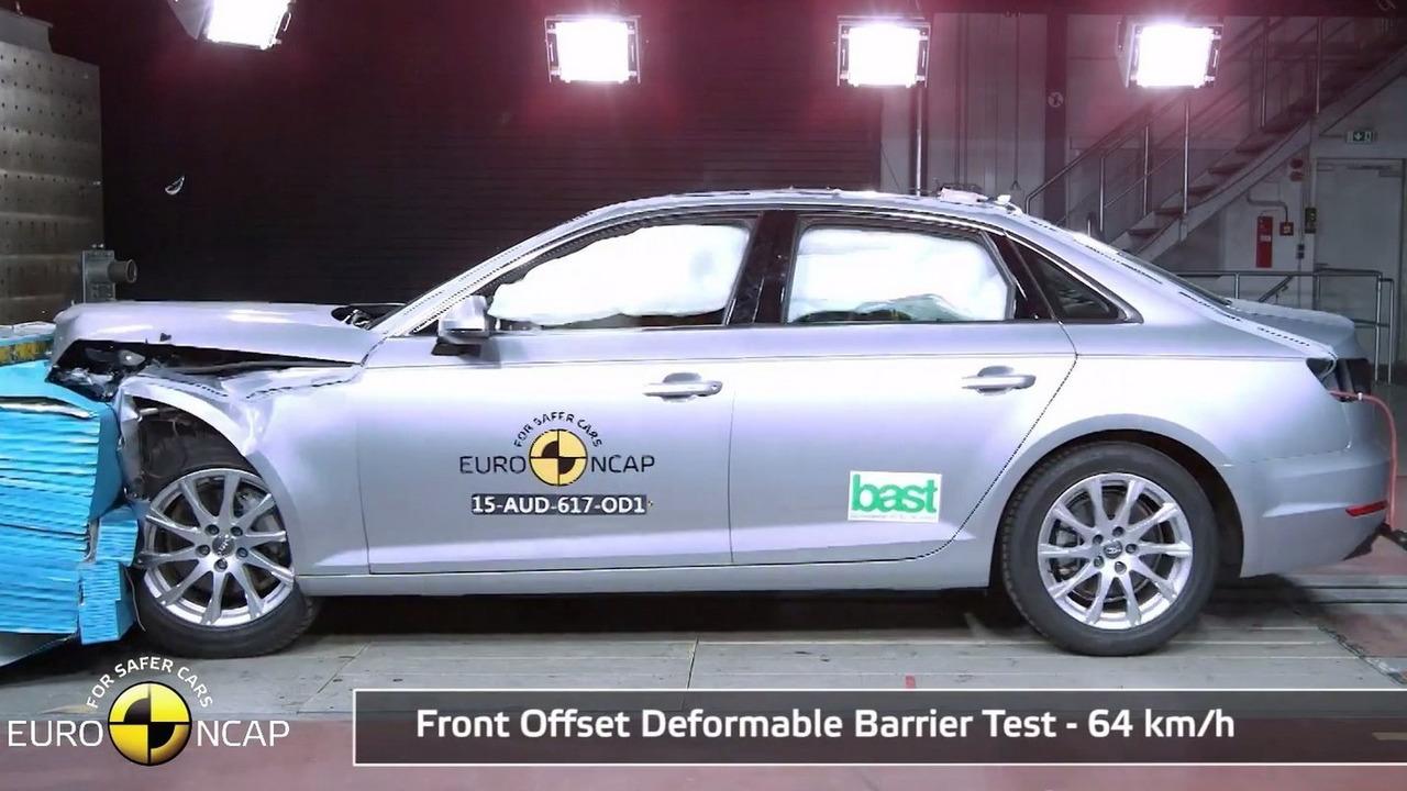 Audi A4 Euro NCAP crash test