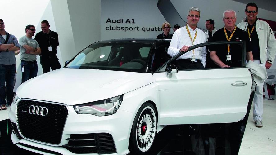 Audi A1 Quattro test drive - high speed acceleration [video]