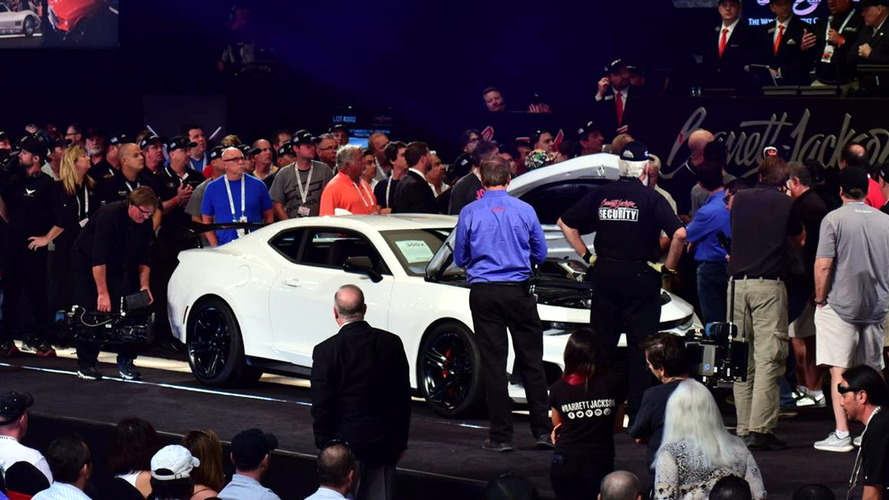 First 2018 Chevy Camaro ZL1 1LE Bought By NASCAR Legend For $250k