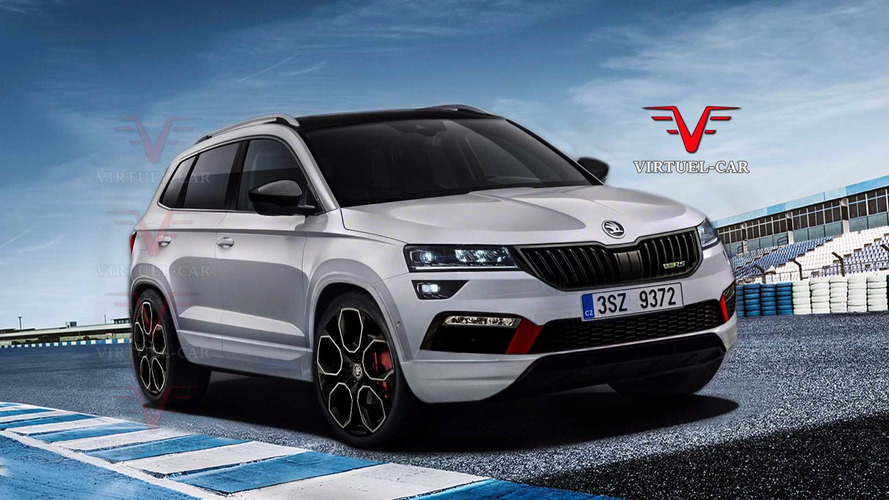 Škoda - Un Karoq RS déjà évoqué