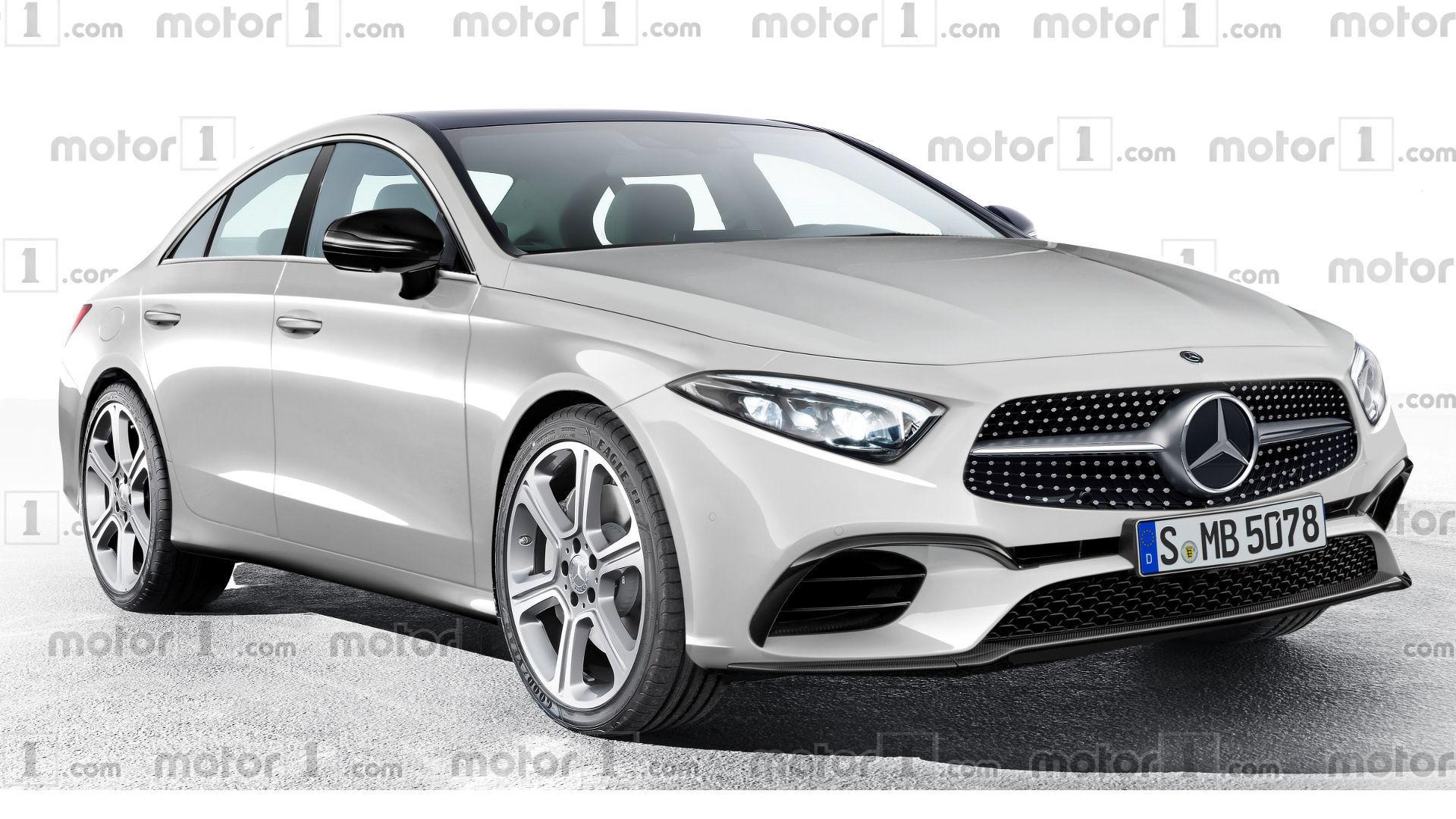 2018 Mercedes Cls Rendering Previews Evolutionary Design
