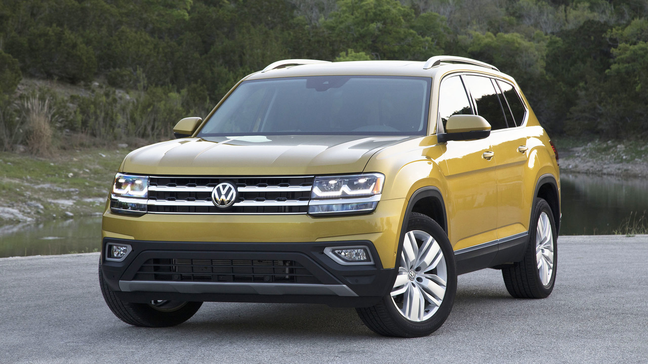2018 Volkswagen Atlas Second Drive: The All-American CUV ...
