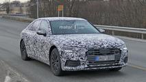 Audi A6 2018 fotos espía