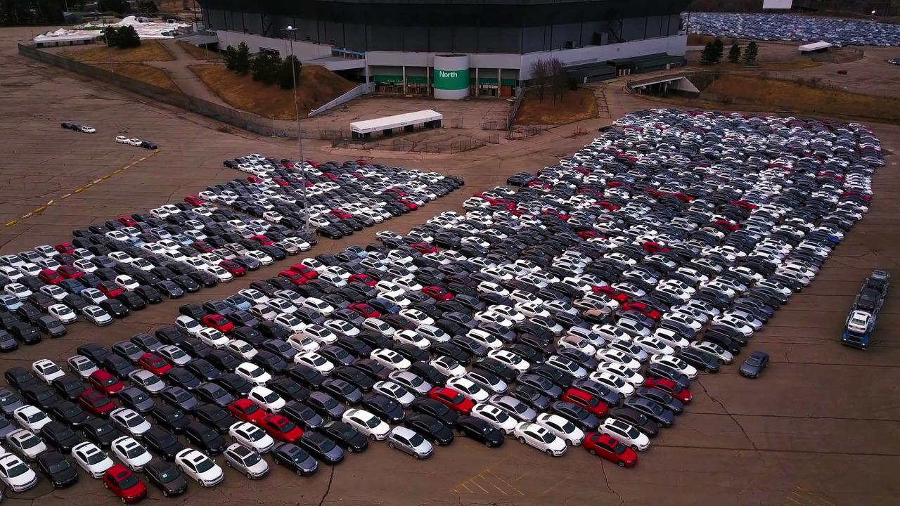 VW geri satın alma - Pontiac Silverdome