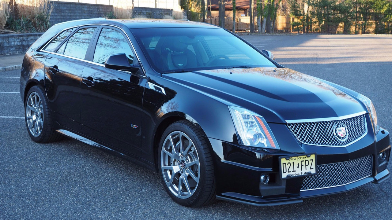 score this rare 2012 cadillac cts v manual wagon while it 39 s affordable. Black Bedroom Furniture Sets. Home Design Ideas
