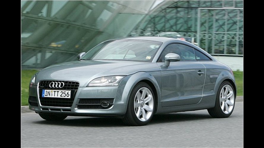 Das neue Audi TT Coupé: Komfortabler Sportler
