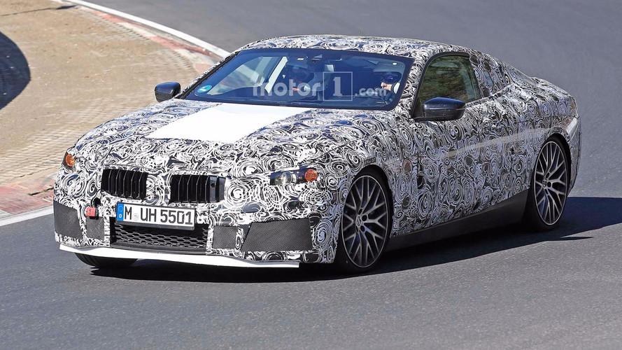 BMW M8 casus fotoğrafları - Nürburgring