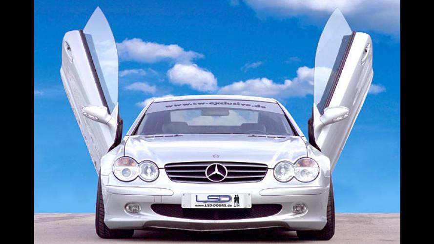 Einfach himmlisch: Flügeltüren für Mercedes