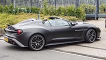 Aston Martin Vanquish Zagato Speedster spy photo