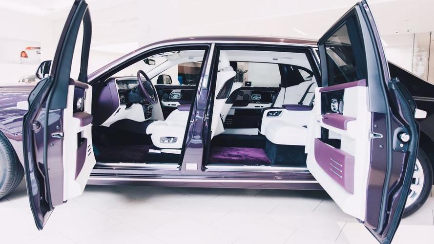 Galeria - Novo Rolls Royce Phantom 2018 mostra opulência ao vivo