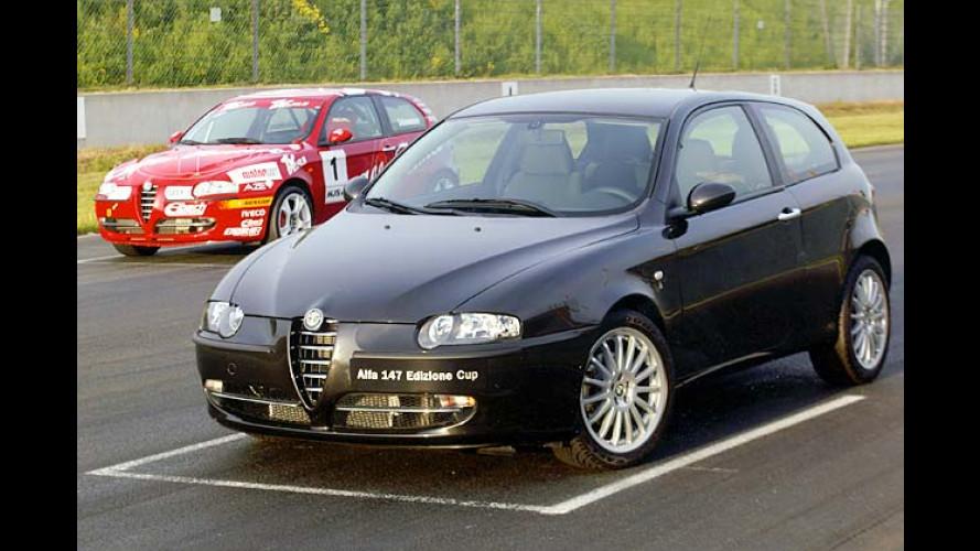 Alfa Romeo: Edizione Cup als 147-Sondermodell