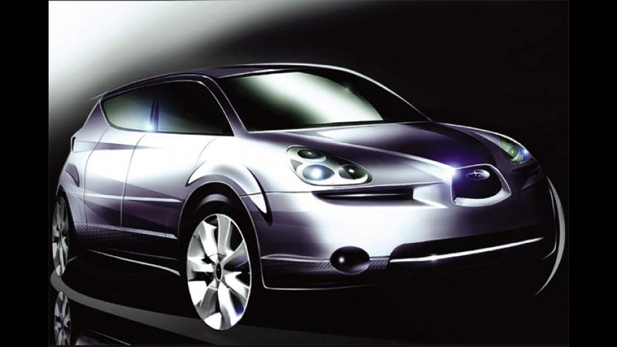 Subaru B9X: Studie eines siebensitzigen Crossover-SUV