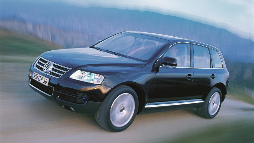 Volkswagen Touareg, su historia en fotos