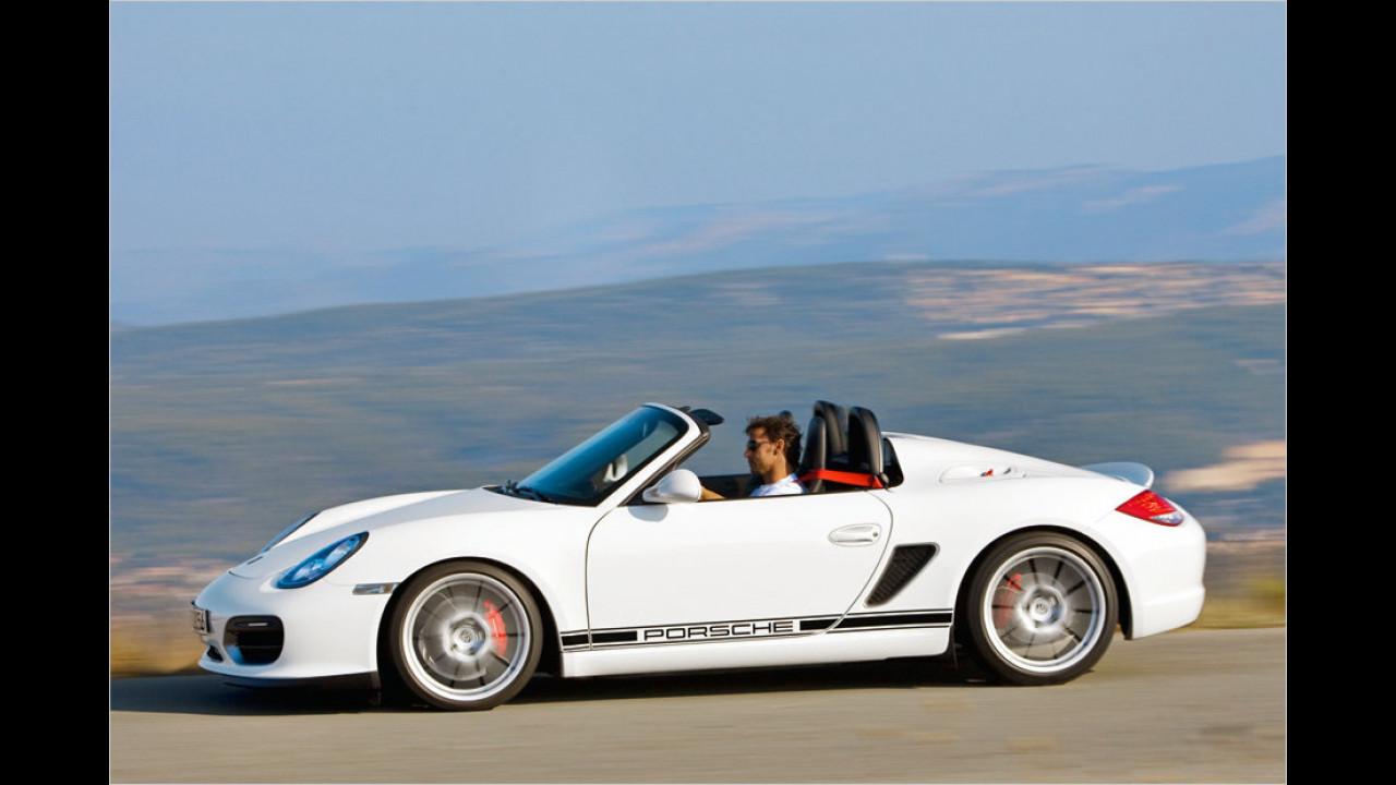 Porsche Boxster Spyder (987; 2010)